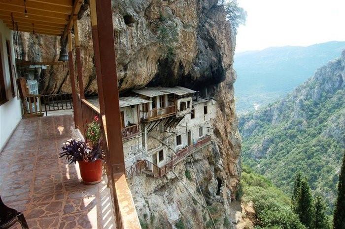 A Monastery of St John Of Prodromos Lousios Arcadia