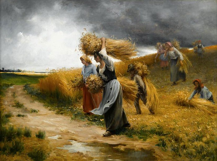 WHEAT COLLECTION PAINTING