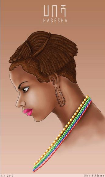 Ethio hair style