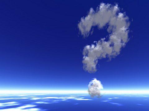 question-mark cloud
