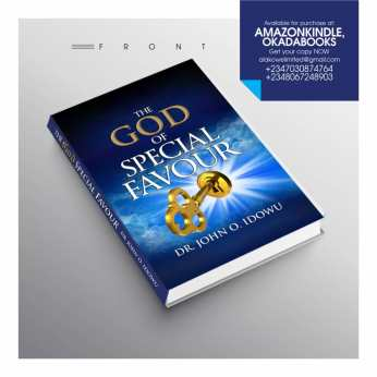 The God Of Special Favour by John O Idowu (3)