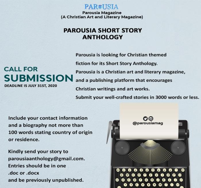 Parousia Short Story Anthology